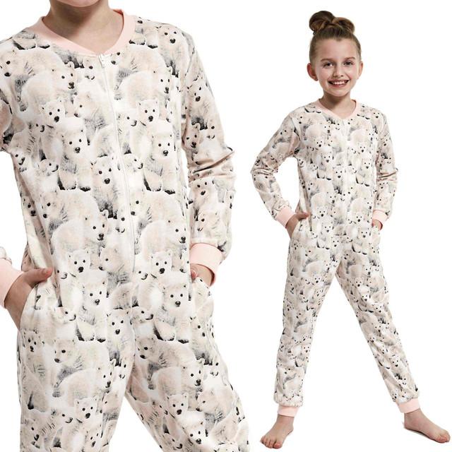 Miłe spanie w mięciutkiej piżamie